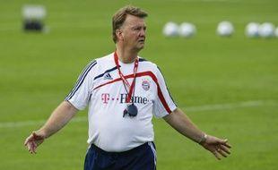 L'entraîneur du Bayern Munich, Louis Van Gaal, le 1er juillet 2009.