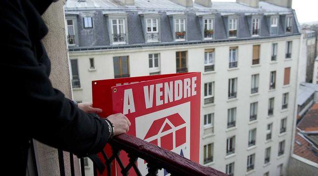 Premiers signes d'une chute du marché du logement ancien en France