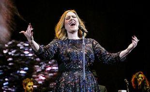 Adele en concert à Birmingham