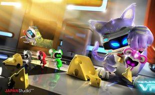 PlayRoom VR, six mini-jeux amusants pour s'initier en douceur au PS VR de Sony.