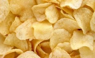 Des chips (illustration).