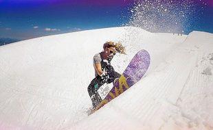 La snowboardeuse, Marion Haerty, a repris son entraînement depuis plusieurs semaines.