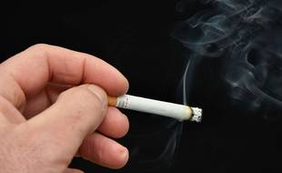 Une cigarette (illustration)