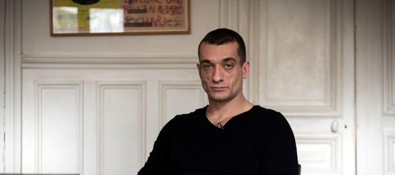 Piotr Pavlenski, artiste russe ayant diffusé les vidéos à caractère sexuel de Griveaux