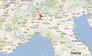 carte du nord de l italie Une secousse de magnitude 5,2 ressentie dans tout le nord de l'Italie