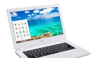 Pour moins de 300 euros, le Chromebook 13 d'Acer offre une puissance que bien des PC pourraient lui envier.