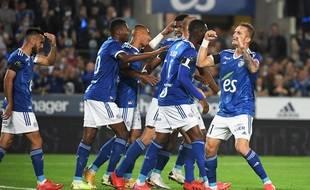 Les Strasbourgoiss mènent 3-0 à la pause contre Metz.
