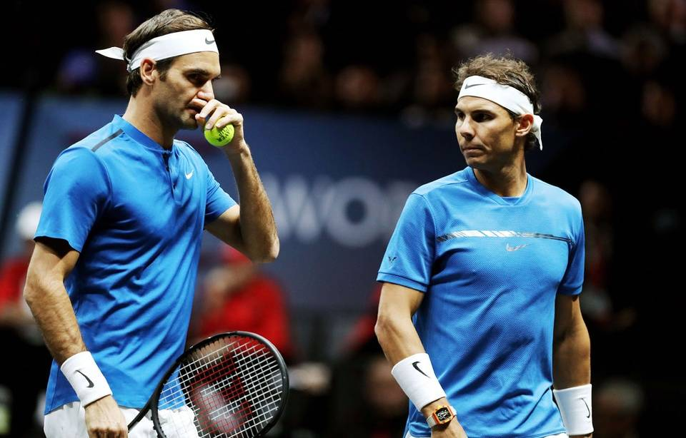 VIDEO. Légendaire: Rafael Nadal et Roger Federer ont joué un match de double ensemble (et ont gagné, évidemment)