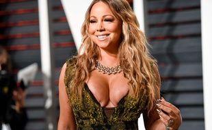 Mariah Carey à Los Angeles le 26 février 2017