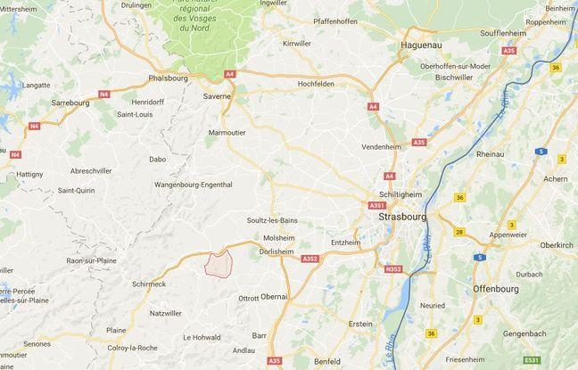 Les faits se sont produits à Mollkirch, dans la vallée de la Bruche.