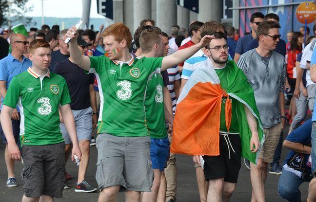 Il y a comme prévu à peine plus de 5.000 supporters irlandais au Parc OL ce dimanche.