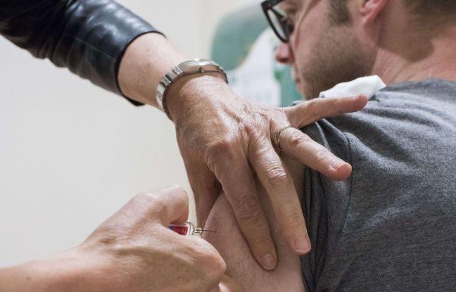 Campagne de vaccination dans une entreprise à Nantes.