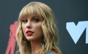 Taylor Swift le 26 août 2019 à Newark (Etats-Unis).
