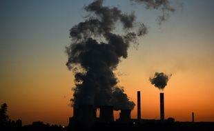 Une centrale à charbon, en Allemagne (photo d'illustration)