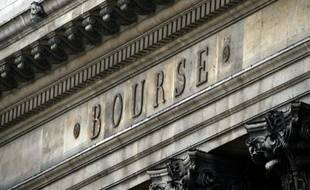 L'ancien siège de la Bourse à Paris le 9 mars 2013