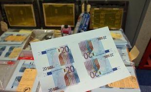 Les faux billets étaient importés d'Italie (illustration)
