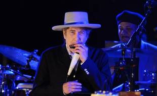 L'artiste Bob Dylan au Hop Farm Music Festival en 2012