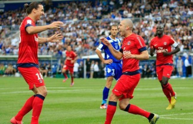 Auteur d'un doublé et passeur décisif, le Suédois Zlatan Ibrahimovic a permis au Paris SG de battre (4-0) sans trembler une équipe de Bastia trop limitée pour menacer des Parisiens dont la marge de progression semble encore très importante.