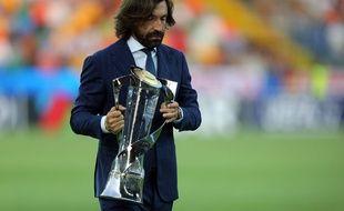 Andrea Pirlo venait d'être nommé entraîneur des moins de 23 ans de la Juventus.