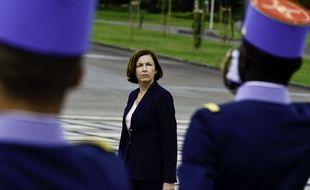 La ministre des Armées, Florence Parly, à l'école militaire de Saint-Cyr le 7 septembre 2020.