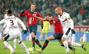 Avec seulement cinq victoires en onze matchs de Ligue 1, Lille peine dans son Grand Stade.
