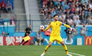 Hugo Lloris face à l'Uruguay