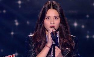 Lou Maï, candidate de la saison 6 de «The Voice».