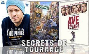 «Amis Publics», «Zootopie» et «Ave César!» cette semaine dans Secrets de tournage (vidéo)