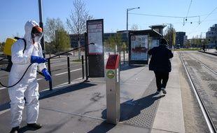 A Strasbourg, les stations de tram les plus fréquentées sont ciblées.