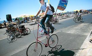 Près de 4 000 personnes ont participé en 2012 à la grande parade cycliste.