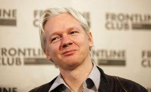 Julian Assange, le fondateur de WikiLeaks, le 27 février 2012 à Londres.