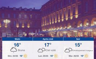 Météo Toulouse: Prévisions du samedi 23 mai 2020