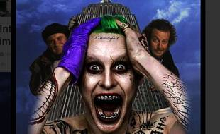 Parodie du Joker de Jared Leto