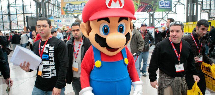 Super Mario au Comic Con de New York