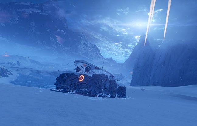 A bord d'un nouveau véhicule, le joueur explore de vaste étendues à la rencontre de nombreuses races extraterrestres.