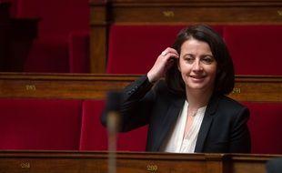 Cecile Duflot, patronne des Verts à l'Assemblée le 24 mars 2015.