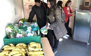 L'épicerie gratuite distribue chaque semaine plus de 200 kilos alimentaires aux étudiants.