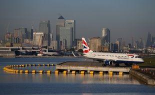 L'aéroport de Londres-City.
