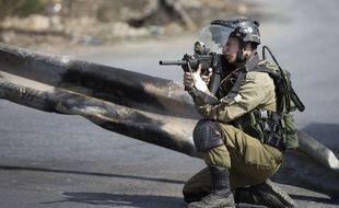 Illustration d'un soldat israélien.