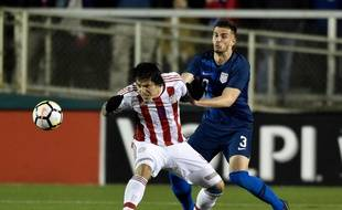 Matt Miazga avec les Etats-Unis face au Paraguay.