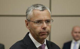 Michel Combes, le directeur d'Alcatel-Lucent le 6 juin 2015 à l'Assemblée nationale.