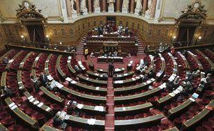 Examen de la réforme des retraites au Sénat le 18 octobre 2010.