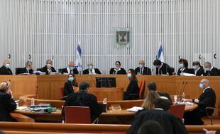 La cour suprême israélienne, le 4 mai 2020. (Illustration)
