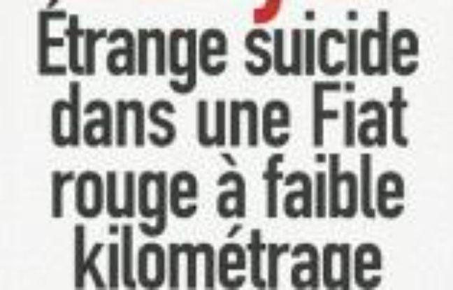 Etrange suicide dans une Fiat rouge à faible kilométrage