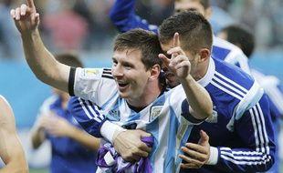Messi après la victoire face aux Pays-Bas, le 9 juillet 2014