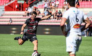 Thomas Ramos a inscrit 24 des 39 points de la victoire du Stade Toulousain sur La Rochelle, samedi en Top 14.