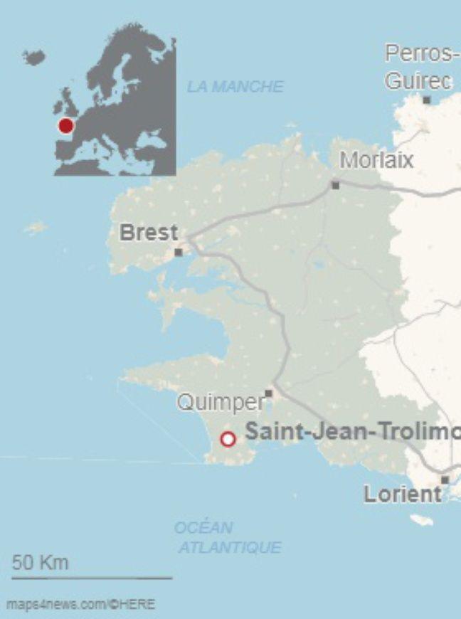 Un corps sans vie d'un jeune homme de 25 ans a été retrouvé sur une plage du Finistère, la pointe de la Torche et celle de Tronoënsur la commune de Saint-Jean-Trolimon.