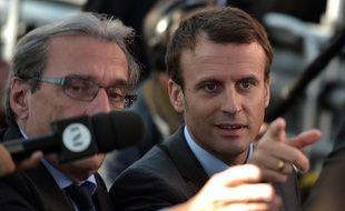 Emmanuel Macron, le mardi 4 octobre à Strasbourg.