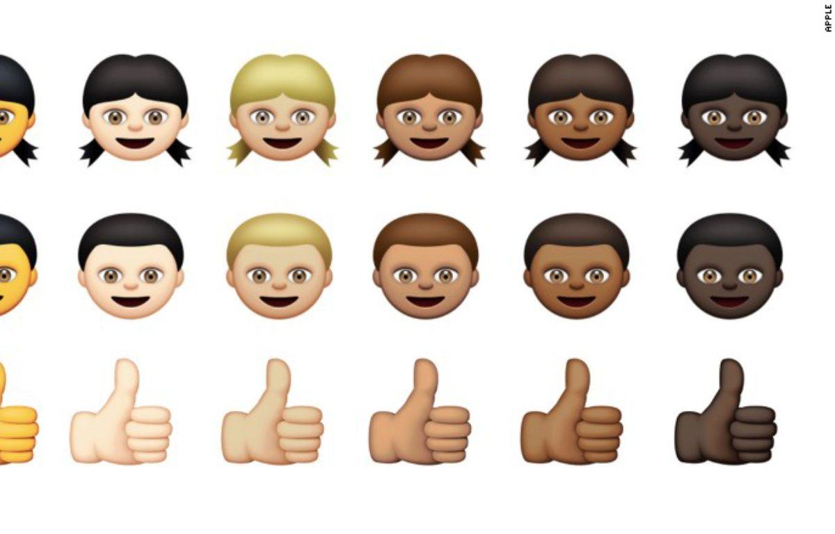 Les nouveaux emoji pour iOS. – Apple