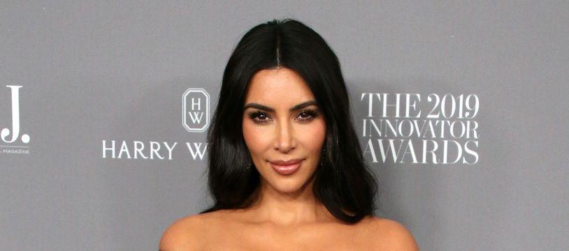 La star de la télé-réalité Kim Kardashian